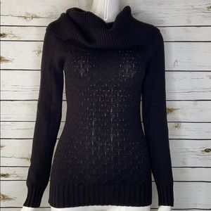 Guess cowl neck long sleeve sweater